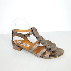 Paul  Green Lola Bronze Sheen Petal Sandals, 7